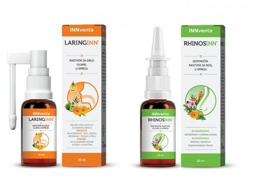 Proširenje Innventa ORL palete-Laringinn i Rhinosinn